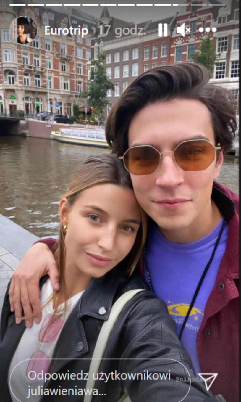 Wieniawa i Rozbicki podróżują po Europie, fot. https://www.instagram.com/juliawieniawa/ /Instagram