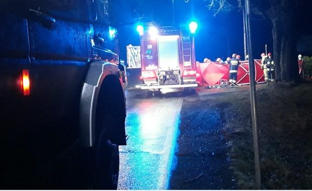 Wieprz: Zderzenie dwóch aut. Jedna osoba zginęła, są ranni