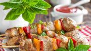 Wieprzowe szaszłyki z papryką