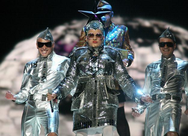 Wierka Serduczka na Eurowizji w 2007 roku - fot. Johannes Simon /Getty Images/Flash Press Media