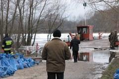 Wieś koło Kruszwicy odcięta od świata