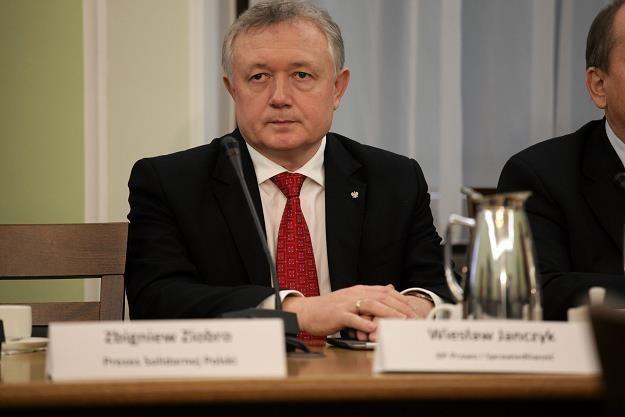 Wiesław Janczyk, wiceminister finansów. Fot. Sławomir Kamiński /AGENCJA GAZETA