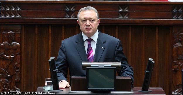 Wiesław Janczyk, wiceminister finansów. Fot. STANISŁAW KOWALCZUK /Agencja SE/East News