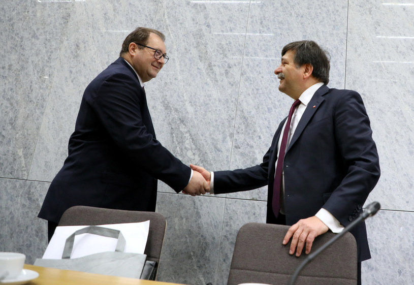 Wiesław Łyszczek i Janusz Śniadek / Jakub Kamiński    /East News