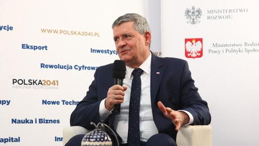Wiesław Ogrodnik, prezes zarządu Zakłady Ceramiczne BOLESŁAWIEC
