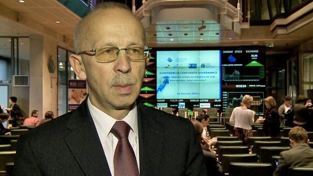 Wiesław Rozłucki, prezes Rady Giełdy /Newseria Biznes