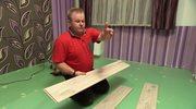 Wiesław Skiba pokazał jak położyć panele podłogowe. Jakich narzędzi użył?