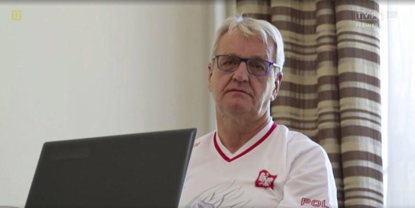 """Wiesław z programu """"Sanatorium miłości"""" /vod.tvp.pl/screen z programu """"Sanatorium miłości"""" /"""