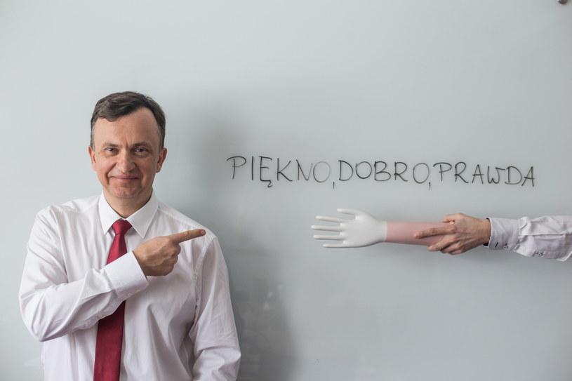 Wiesław Żyznowski, prezes Mercatora /Marek Wiśniewski /Agencja FORUM