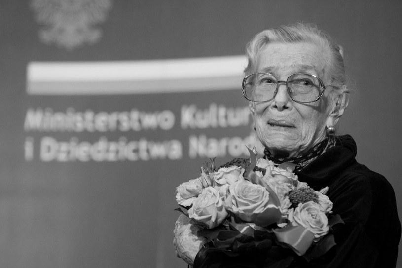 Wiesława Mazurkiewicz /Adam Jastrzębowski /Reporter