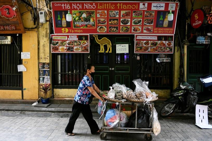 Wietnam przygotowuje się na szczytowy okres pandemii /NHAC NGUYEN  /AFP