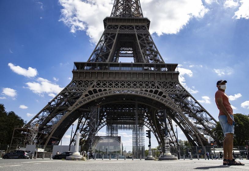 Wieża Eiffla została ewakuowana /IAN LANGSDON /PAP