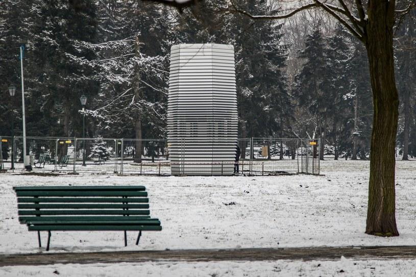 Wieża jest w stanie oczyścić powietrze w promieniu kilkunastu metrów /Jan Graczyński /East News