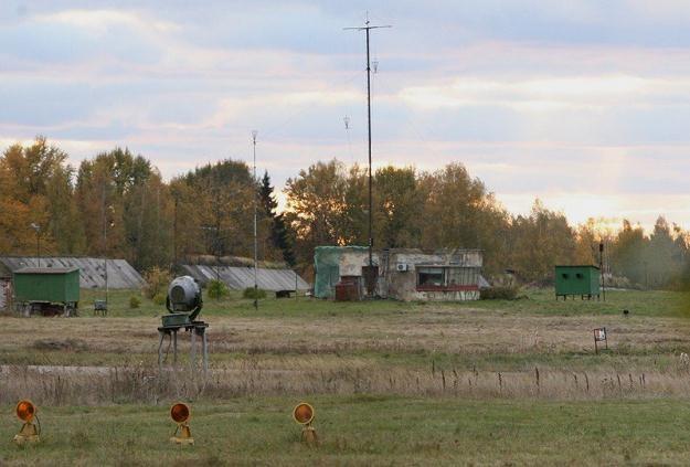 Wieża kontroli lotów na lotnisku w Smoleńsku, fot. S. Kowalczuk /East News