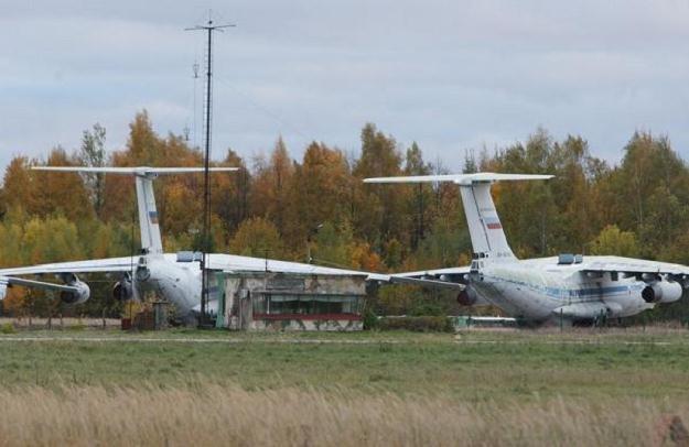 Wieża kontroli lotów na lotnisku w Smoleńsku, fot. Stanisław Kowalczuk /East News