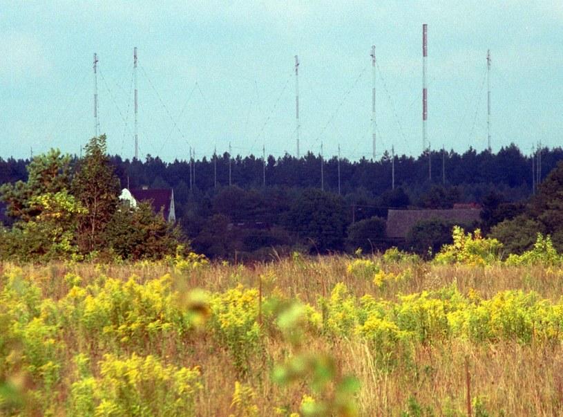 Wieża strażnicza szkoły wywiadu W Straych Kiejkutach /Wojtek Stein /Reporter