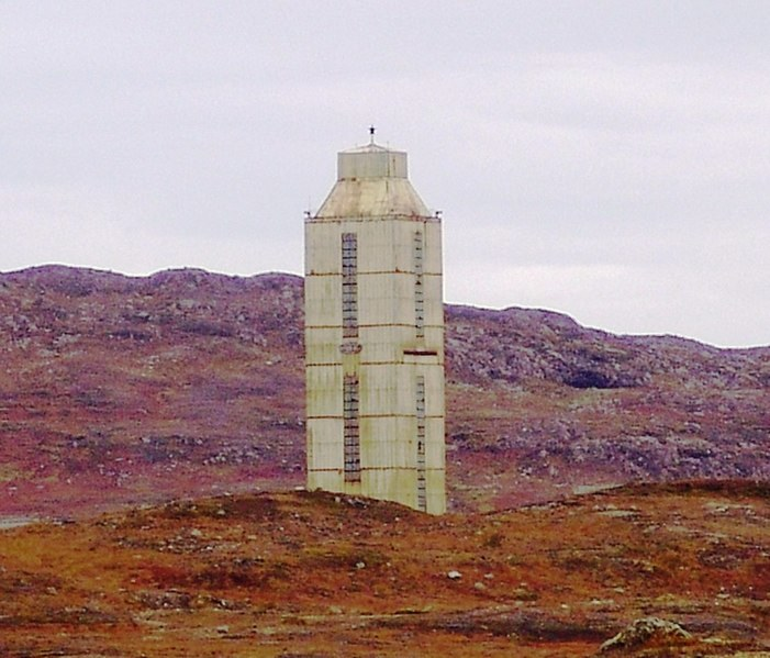 Wieża wiertnicza. Fot. Andre Belozeroff /Wikipedia