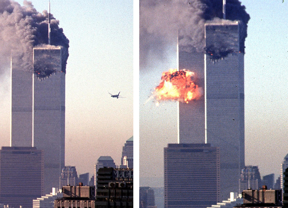 Wieże World Trade Center 11 września 2001 /PAP