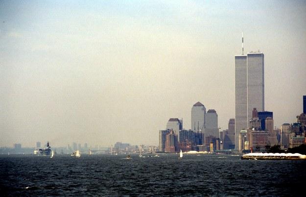 Wieże WTC w 1986 roku /PAP/DPA