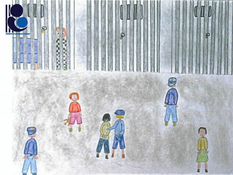 Więzienie oczami dziecka, źródło: Probacja /