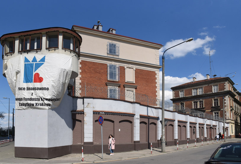 Więzienie przy ul. Montelupich w Krakowie /Marek Lasyk  /Reporter
