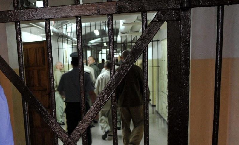 Więzienie /Marcin Bielecki /PAP