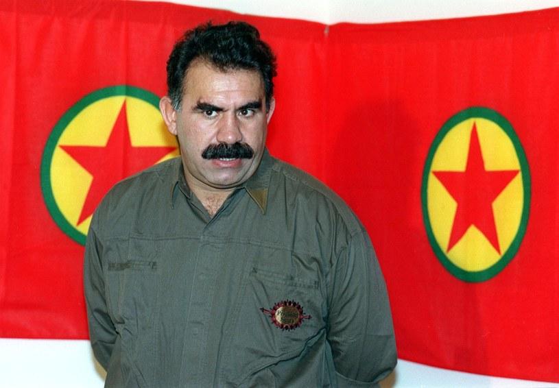 Więziony w Turcji szef separatystycznej Partii Pracujących Kurdystanu Abdullah Ocalan. Zdjęcie z 1993 roku /Joseph BARRAK /AFP