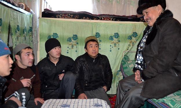 Więźniowie w Kirgistanie /AFP