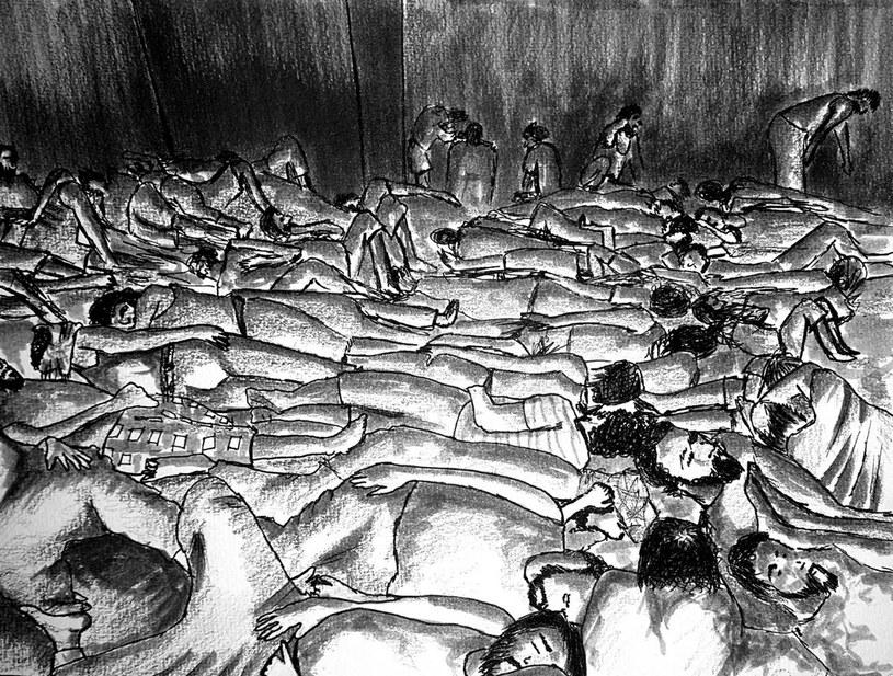 Więźniowie zmuszani są do przebywania w nieludzkich warunkach /Amnesty International /