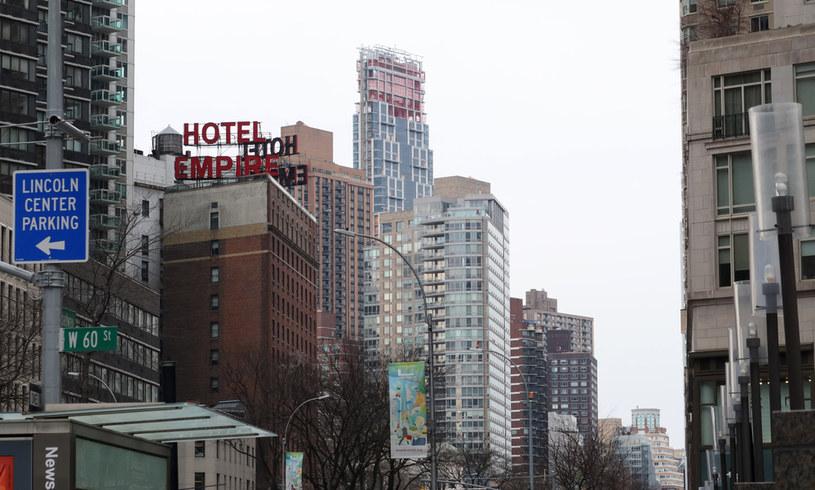 Wieżowiec góruje nad miastem /Photo by Gary Hershorn /Getty Images