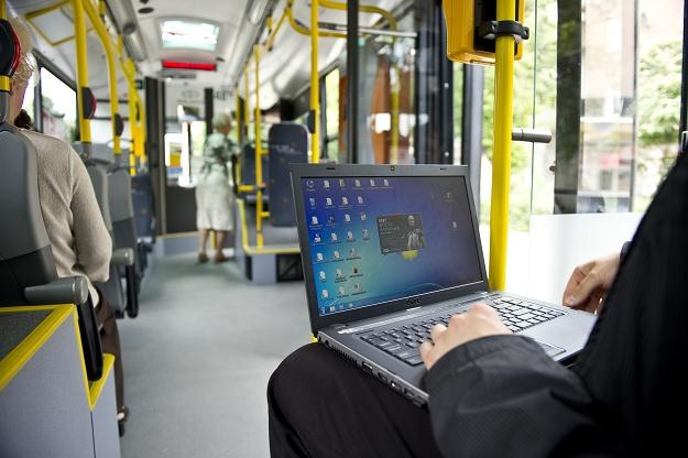 WiFi w trolejbusie /PAP