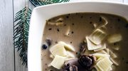 Wigilijna zupa grzybowa. Bardzo aromatyczna!
