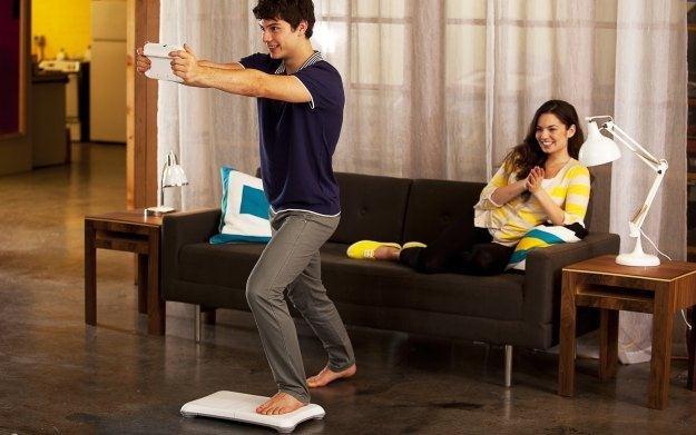 Wii Fit U - zdjęcie promujące sportą serię na konsolę Nintendo /Informacja prasowa