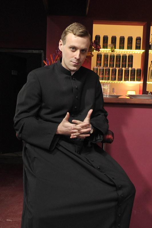 """Wikary Maciej z """"Rancza"""" (Mateusz Rusin). /Gałązka /AKPA"""