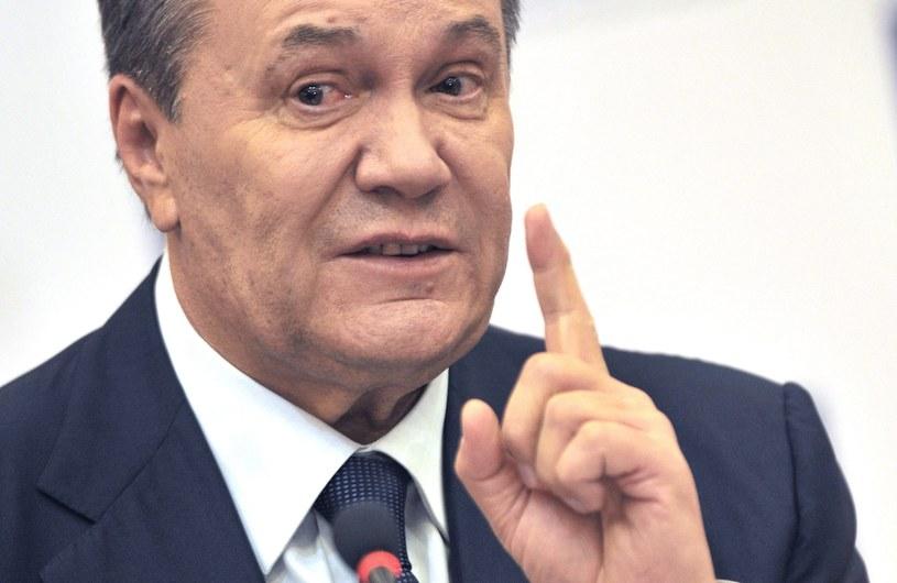 Wikotr Janukowycz /ALEXANDER BLOTNITSKY /PAP/EPA