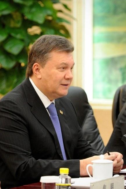 Wiktor Janukowycz /WANG ZHAO  /PAP/EPA