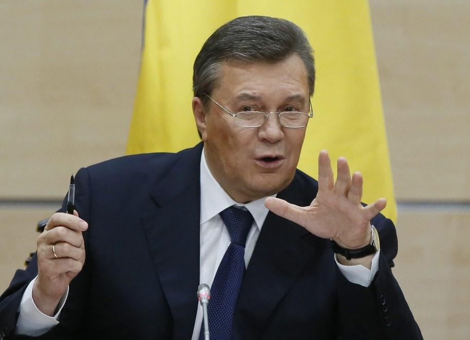 Wiktor Janukowycz /YURI KOCHETKOV /PAP/EPA