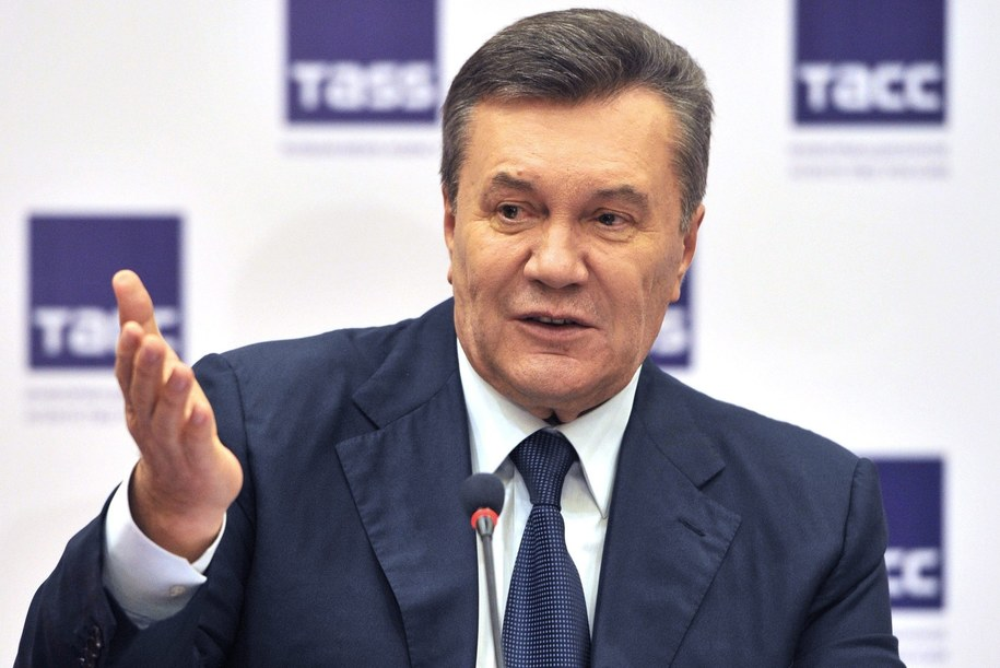 Wiktor Janukowycz /ALEXANDER BLOTNITSKY /PAP/EPA