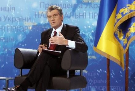 Wiktor Juszczenko ponagla organizatorów /AFP