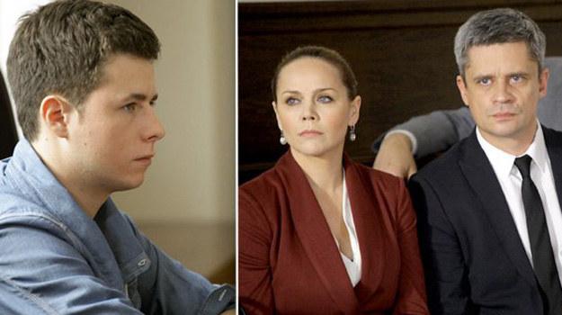 Wiktor nadal twierdzi, że to Łukasz jest winny śmierci Karoliny. /MTL Maxfilm