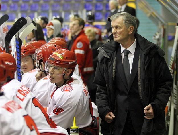 Wiktor Pysz, selekcjoner hokejowej reprezentacji Polski fot: Tadeusz Bącal /INTERIA.PL