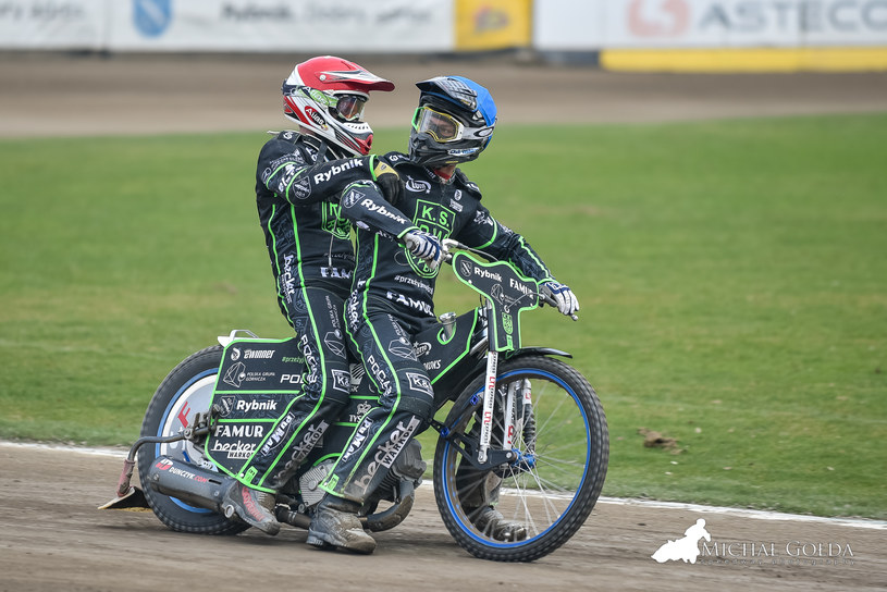 Wiktor Trofimow i Rune Holta /Jarosław Pabijan /Flipper Jarosław Pabijan