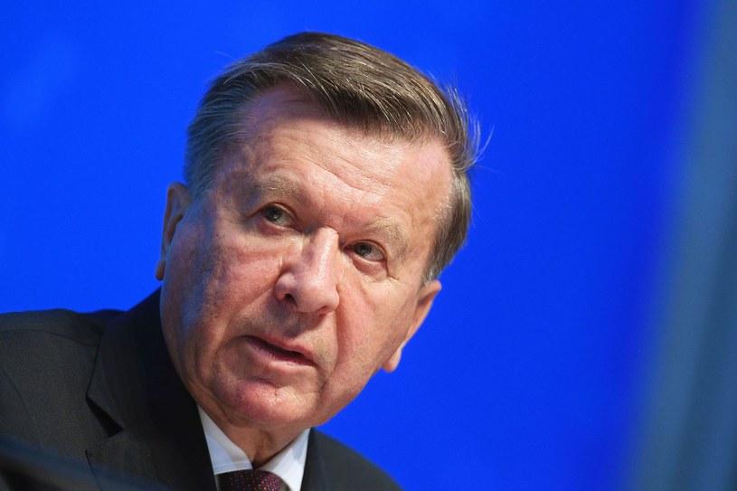 Wiktor Zubkow, szef rady nadzorczej Gazpromu /AFP