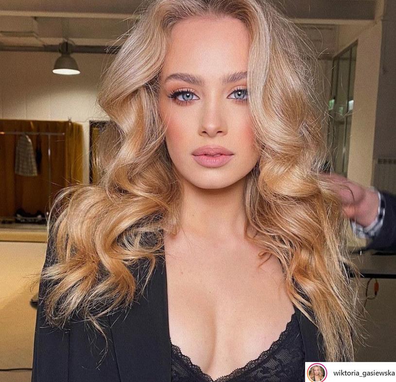 Wiktoria Gąsiewska, fot. z Instagrama aktorki /materiały prasowe