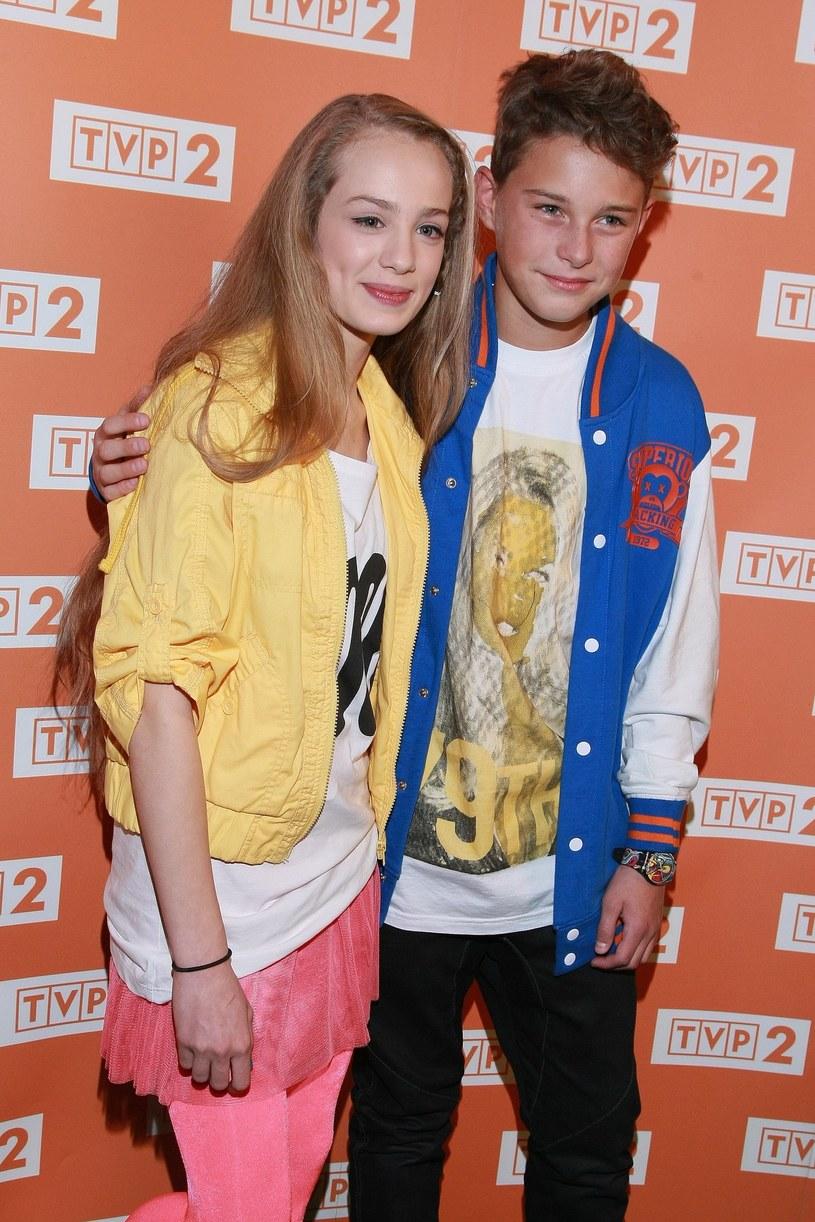 Wiktoria Gąsiewska i Adam Zdrójkowski, 2013 rok /VIPHOTO /East News