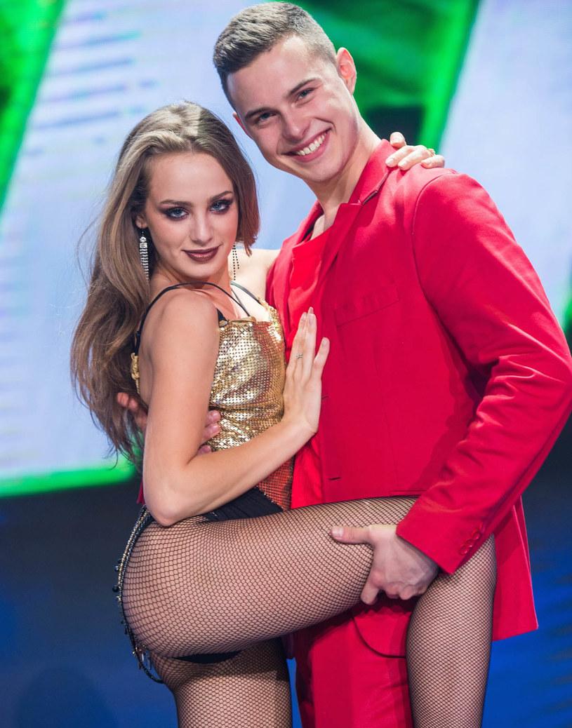 "Wiktoria Gąsiewska i Adam Zdrójkowski wygrali ""Dance, dance, dance"", fot. Waldemar Kompala/TVP /East News"