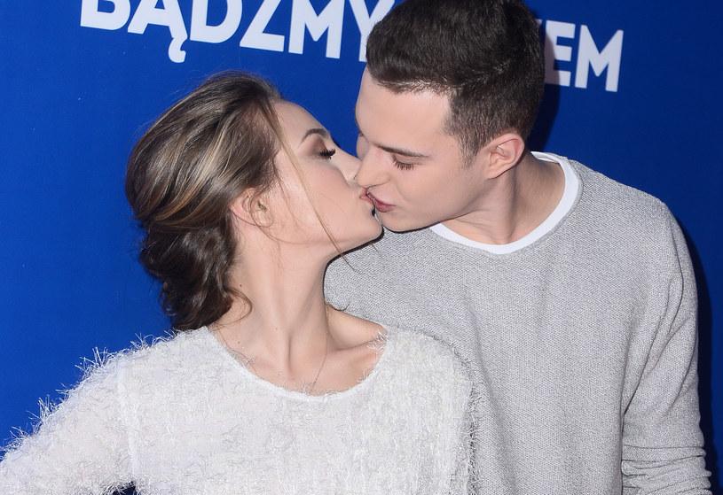 Wiktoria Gąsiewska i Adam Zdrójkowski /Jarosław Antoniak /MWMedia