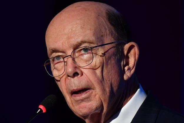 Wilbur Ross, minister ds. handlu USA /AFP