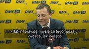 Wild: Mój pseudonim w rządzie? A może Karwowski?