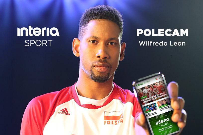 Wilfredo Leon promuje Sport Interia /INTERIA.PL